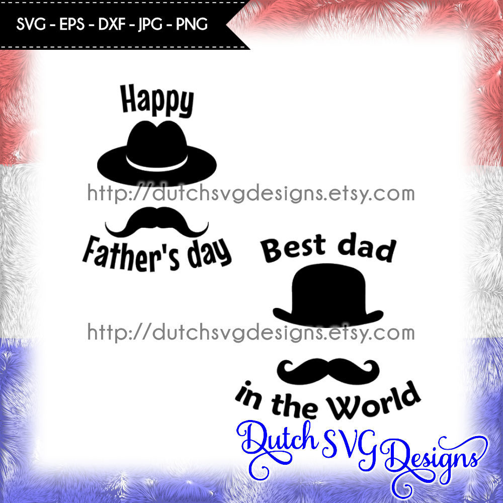 Cutting File Dad In Jpg Png Svg Eps Dxf For Cricut Silhouette