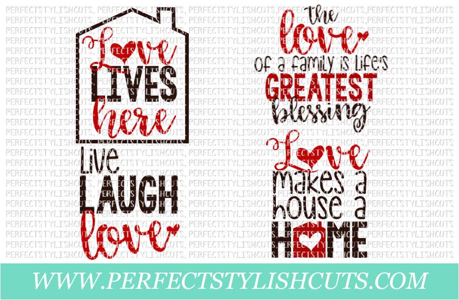 The Love Wood Sign Pack Svg Eps Dxf Png Files For Cutting