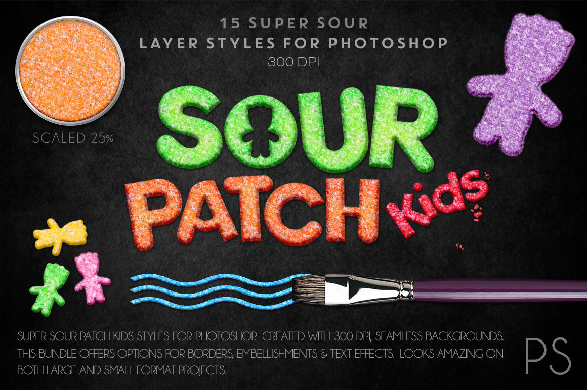 Sour Patch Kids Candy By Fly Girl Media Design Studios