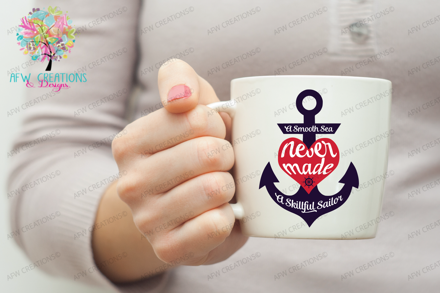 Anchor Smooth Sea Skillful Sailor Svg Dxf Eps Cut Files By