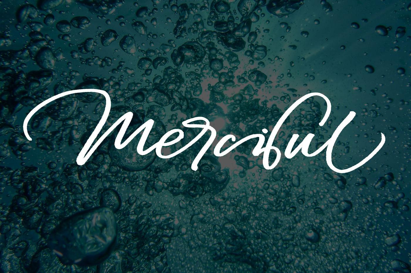 Merciful By Ojes Studio Thehungryjpeg Com