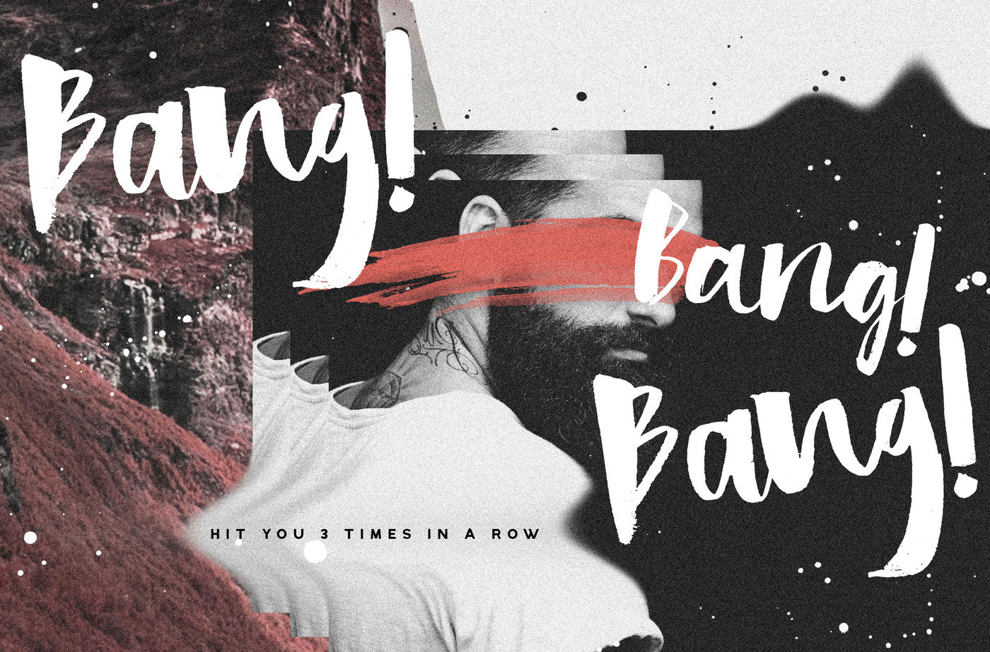 Hastagirl Chic Brush Watercolor Font By Konstantine Studio