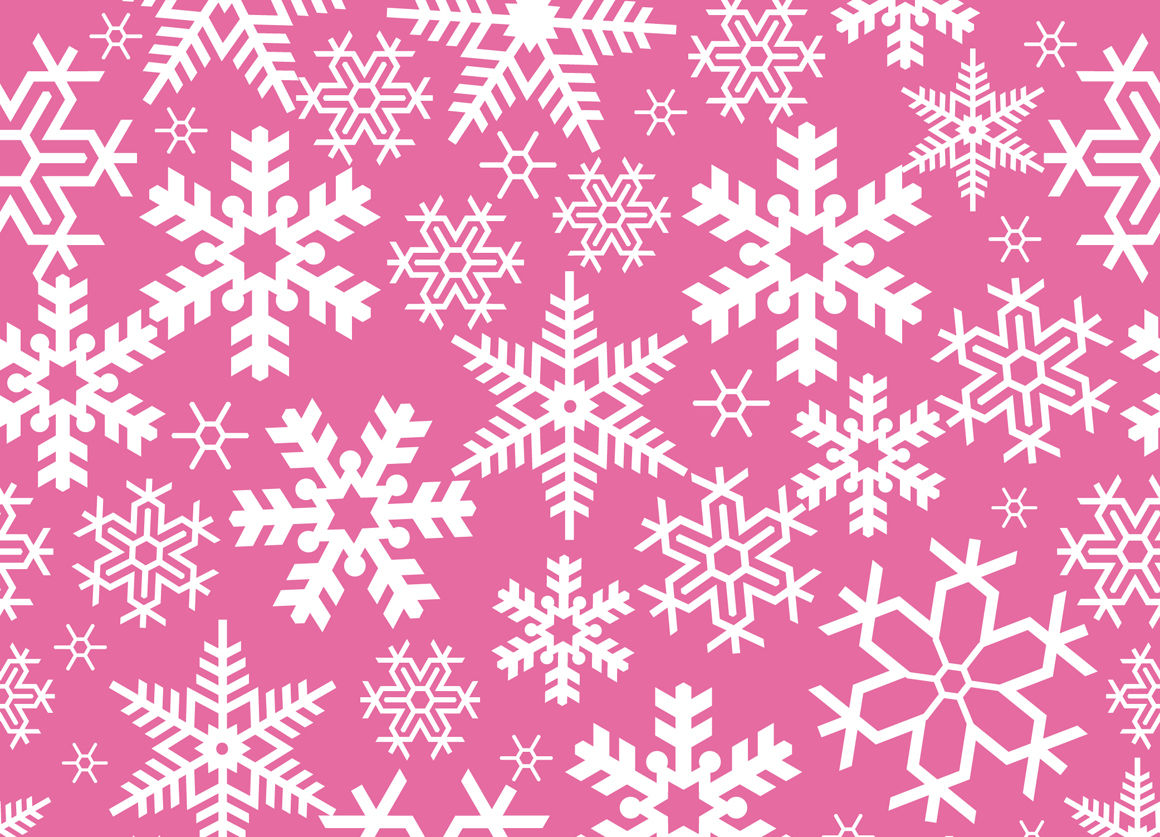 Seamless Vector Christmas Snowflakes Pattern By Alexzel