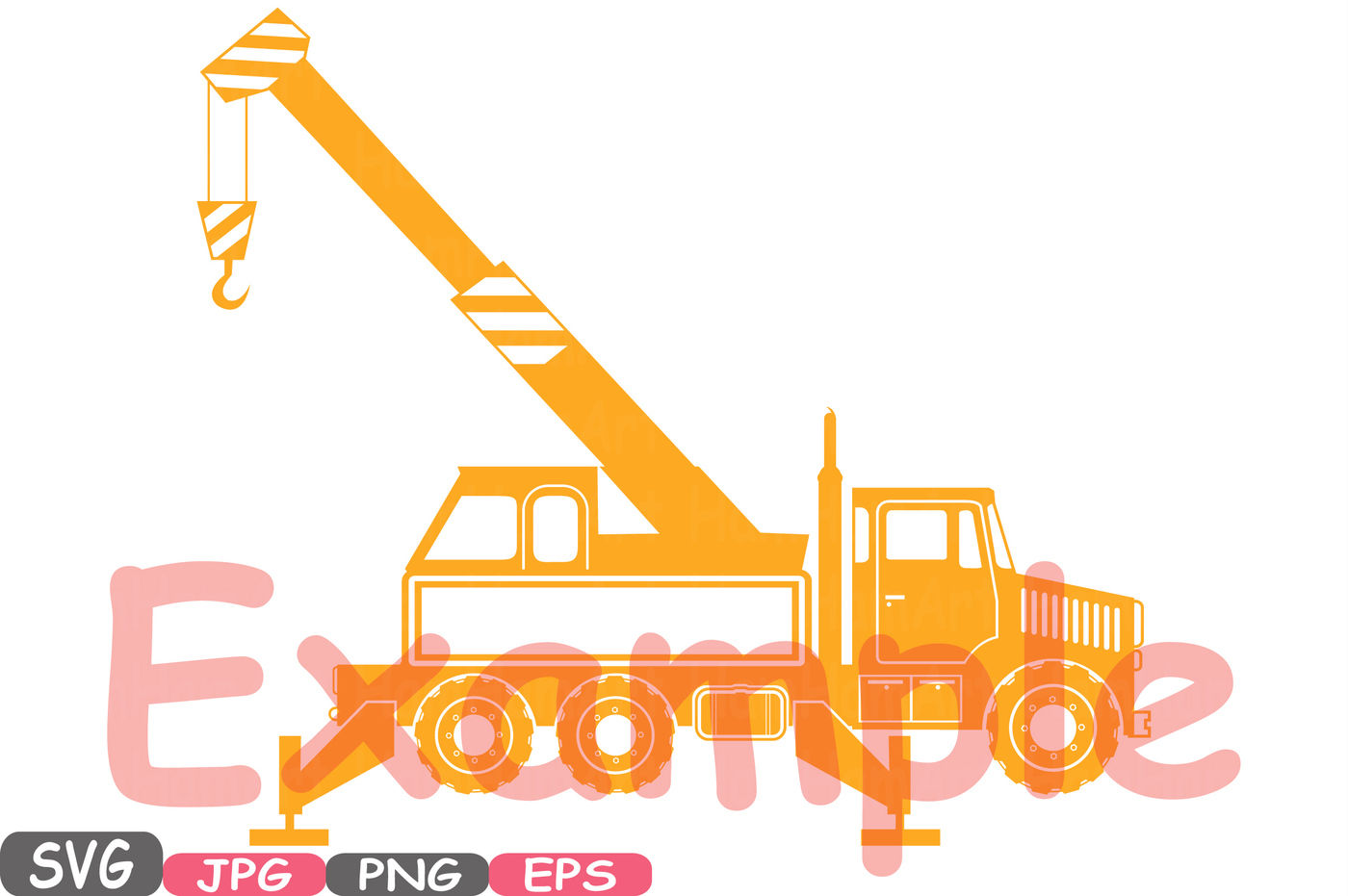 Construction Machines Circle Split Silhouette Svg File Cutting Files Dump Trucks Toy Toys Cars Excavator Stickers Builders Clipart 555s By Hamhamart Thehungryjpeg Com
