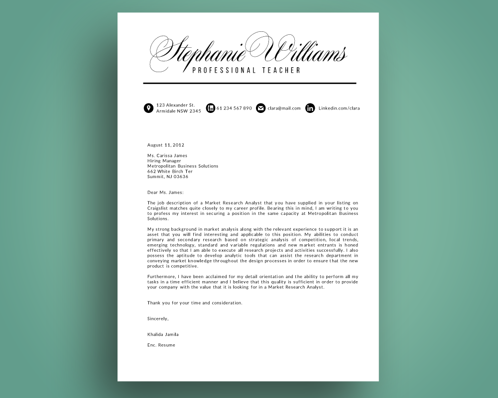 Script Resume Cover Letter Pptx By Inkpower Thehungryjpeg Com