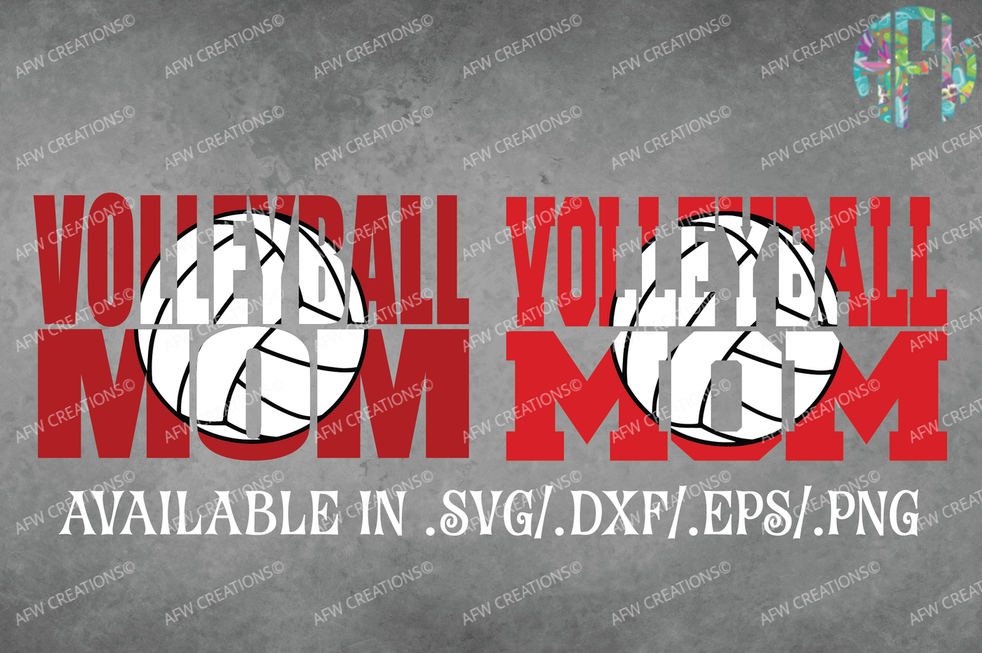 Volleyball Mom Svg Dxf Eps Cut File By Afw Designs Thehungryjpeg Com