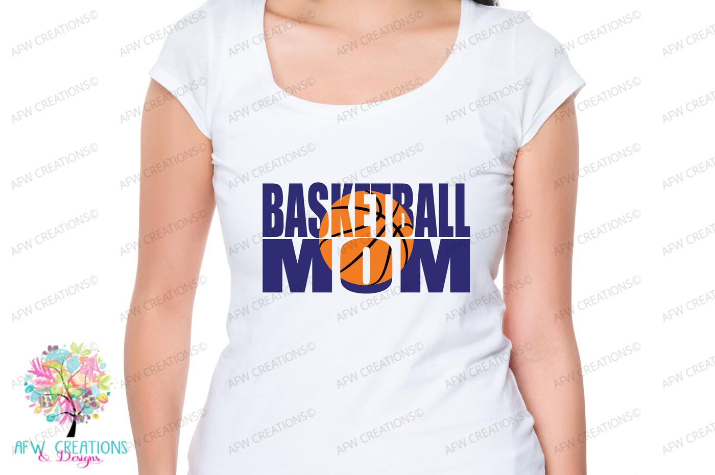 Basketball Mom Svg Dxf Eps Cut File By Afw Designs Thehungryjpeg Com