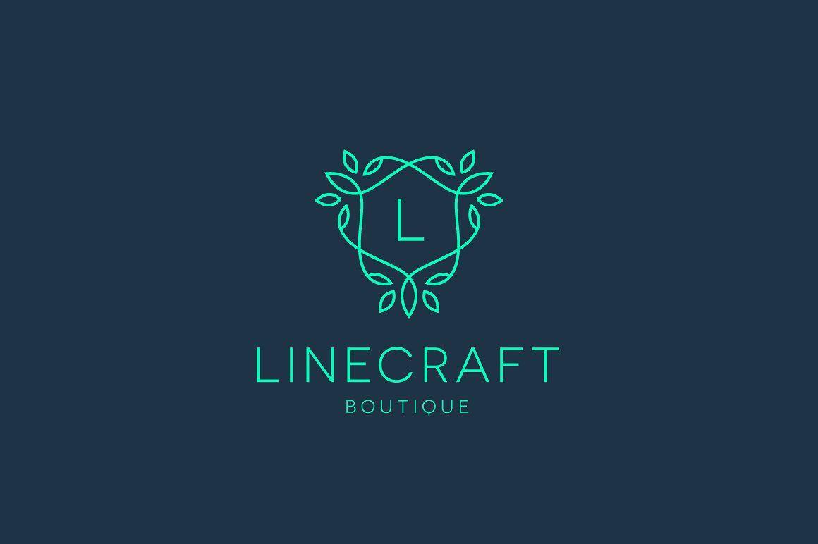 Linecraft Boutique Logo Bundle By Tortugastudio Thehungryjpeg Com