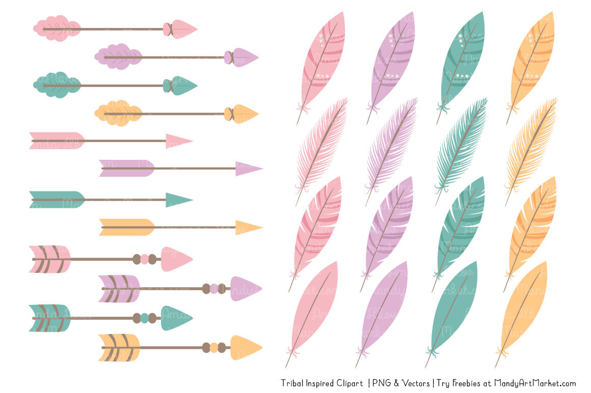 Tribal Clipart Collection In Garden Party By Amanda Ilkov