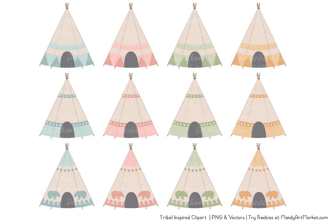 Tribal Clipart Collection In Grandmas Garden By Amanda Ilkov