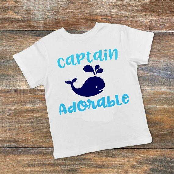Captain Adorable Summer Svg Dxf Eps Png Cut File Cricut Silhouette By Kristin Amanda Designs Svg Cut Files Thehungryjpeg Com