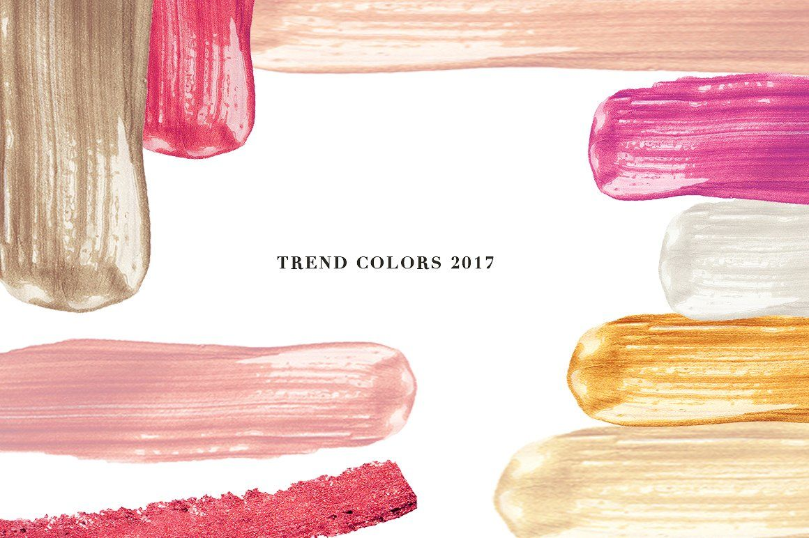 57 Vector Cream Brush Trend Colors By Kristina Co
