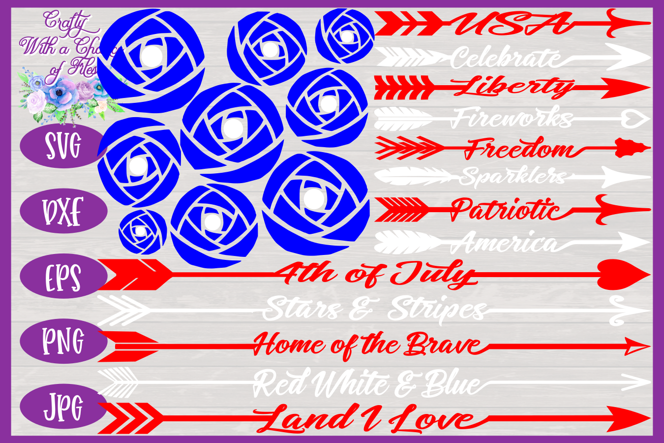 Usa Svg American Flag Svg July 4th Svg Memorial Day Svg By