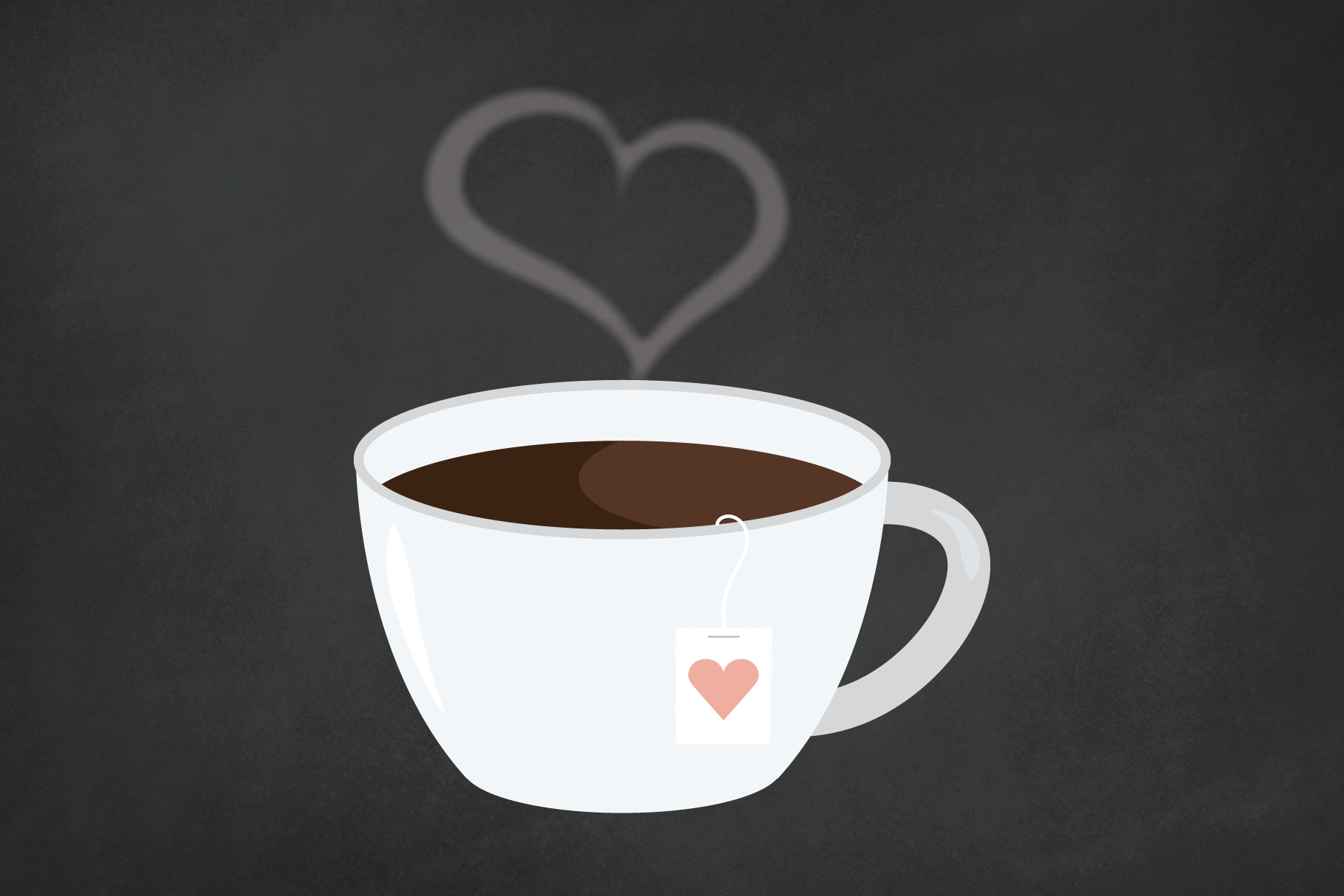 Heart Steam Tea Mug Clip Art Set By Running With Foxes Thehungryjpeg Com