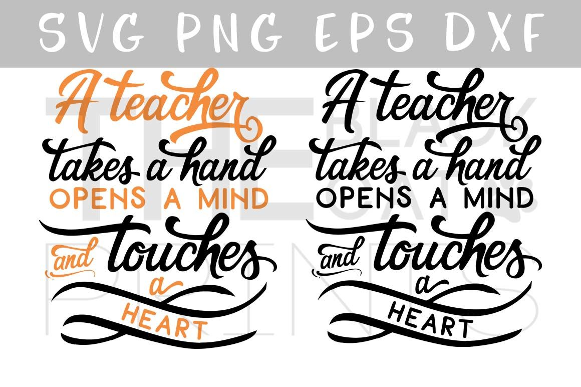 Teacher Quote Svg Png Eps Dxf By Theblackcatprints Thehungryjpeg Com