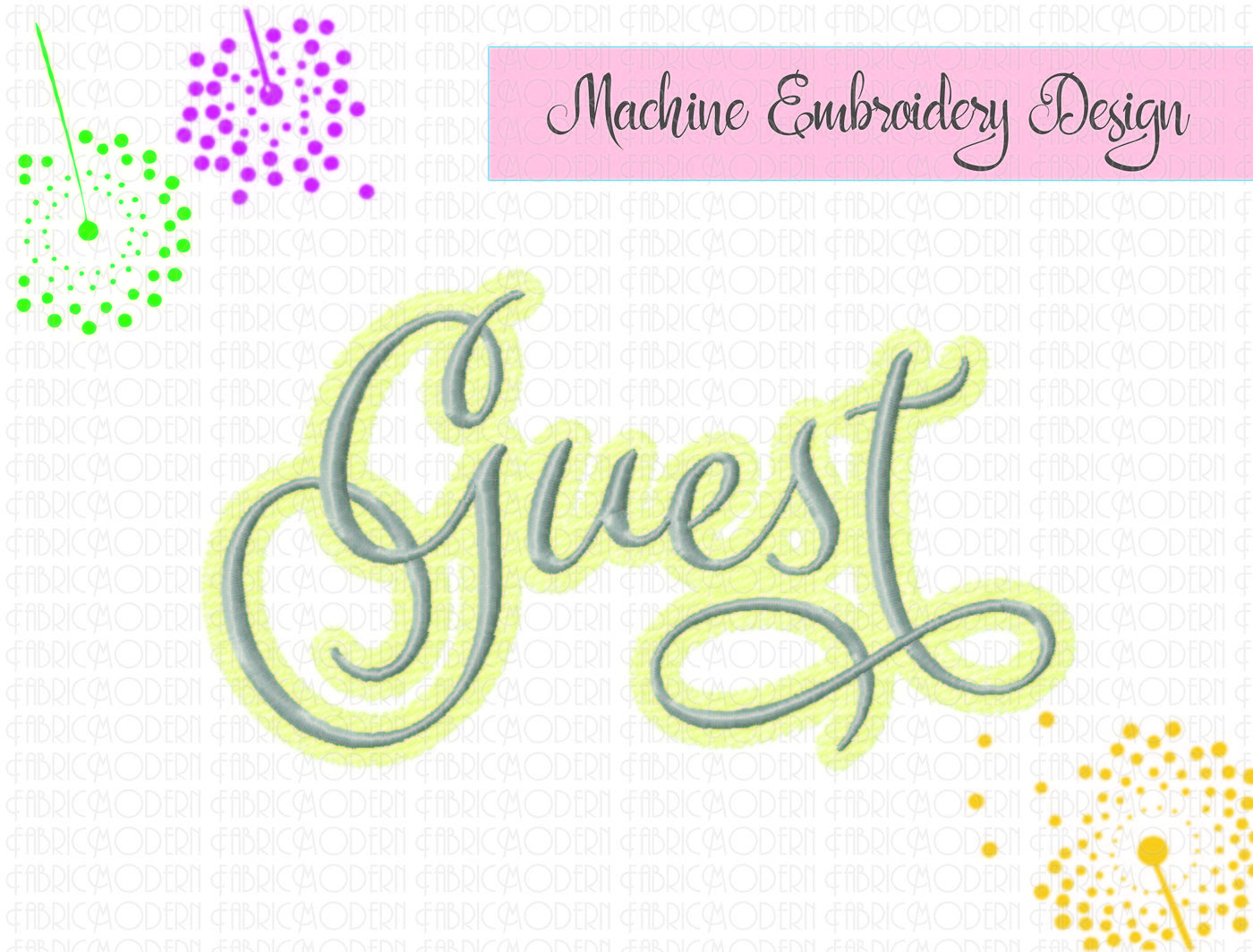 Guest Towel Design Embroidery Design Guest Towel Embroidery Fancy Script With Flourishes Six Sizes Wedding Linens 891 By Fabricmodern Thehungryjpeg Com