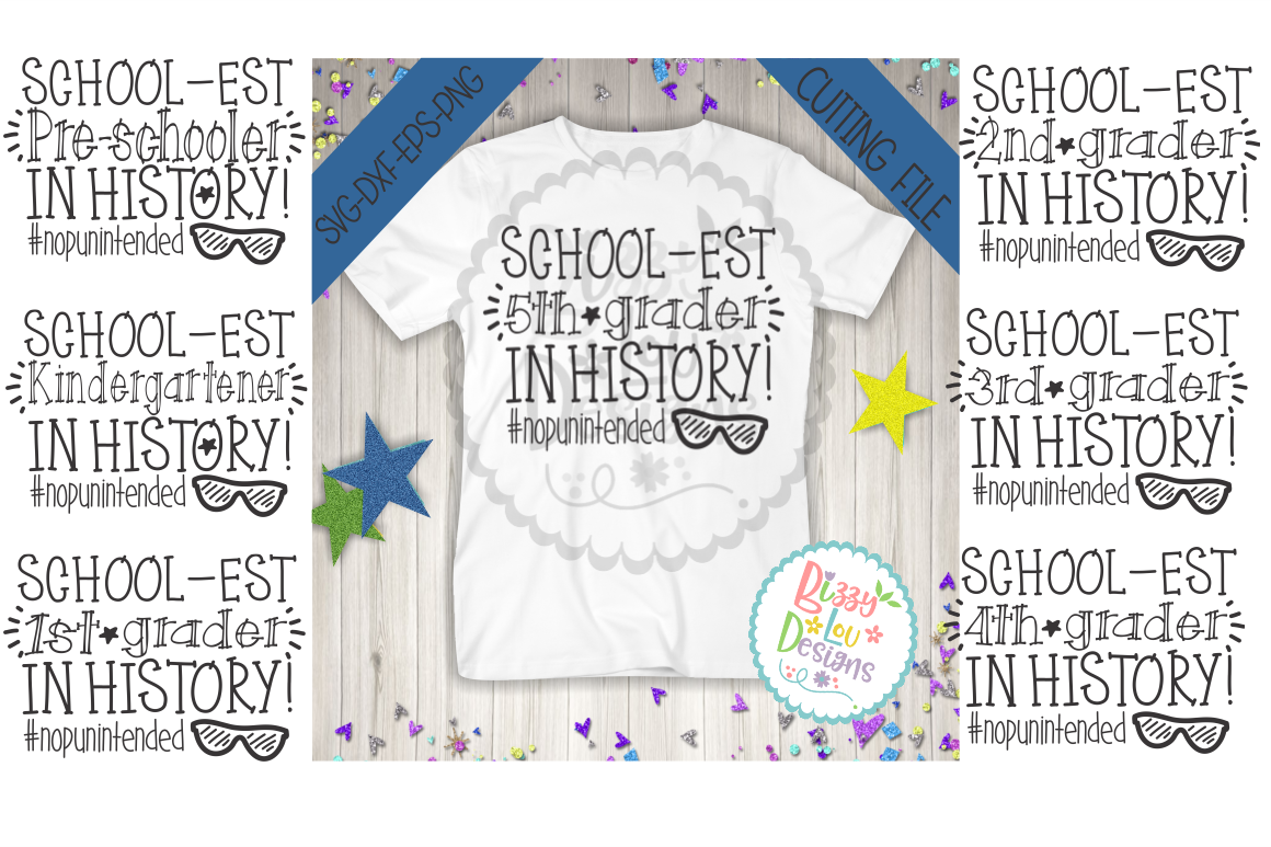 School Svg Dxf Eps Png Cutting File Printable Back To School