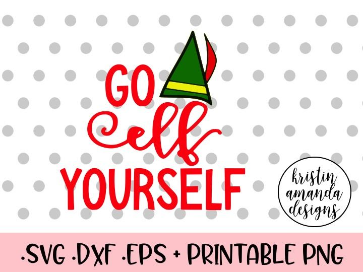 graphic relating to Elf Yourself Printable called Move Elf Oneself Xmas SVG DXF EPS PNG Reduce Document Cricut