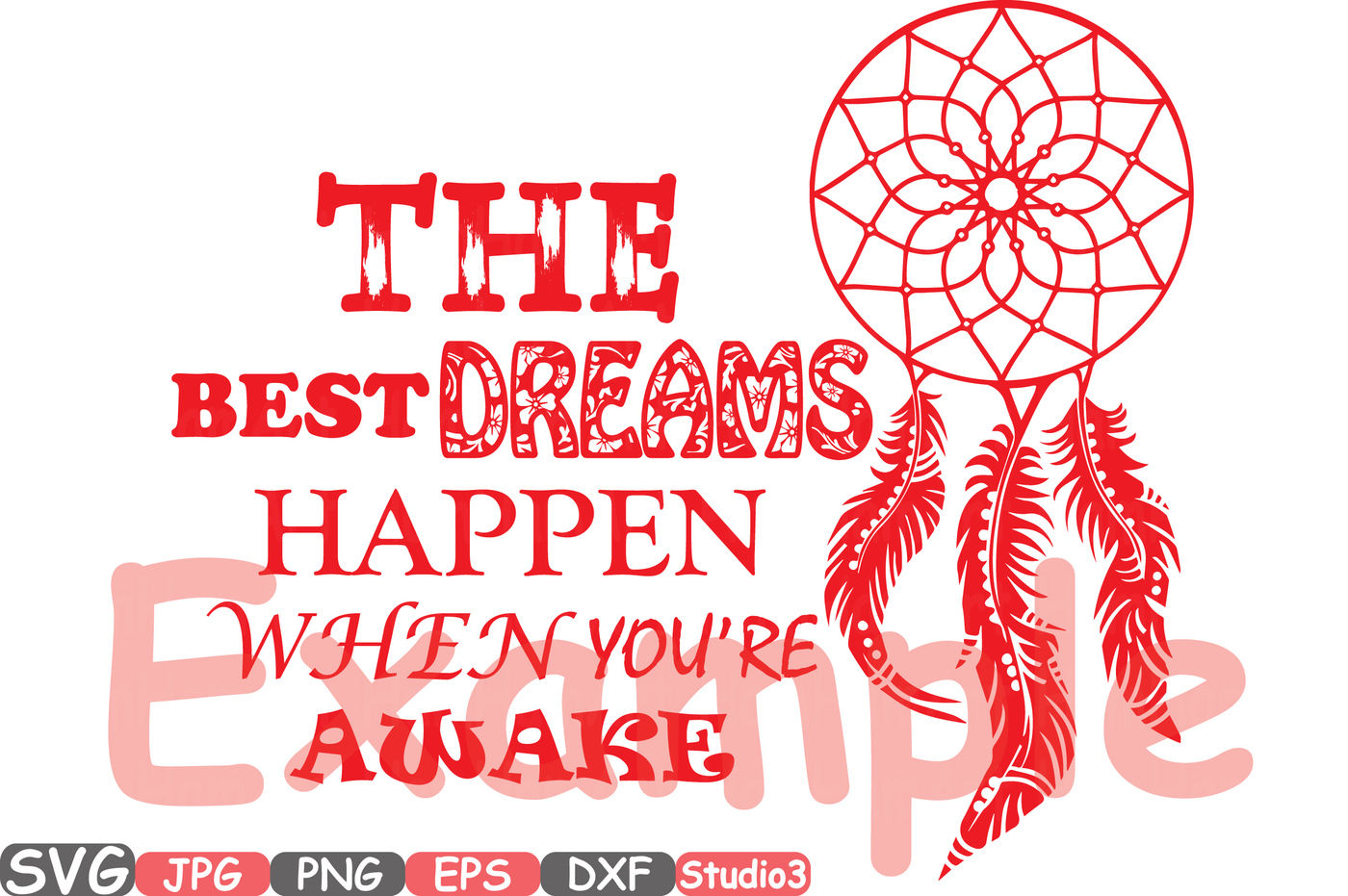 Dream Catcher The Best Dreams Happen When You Re Awake Quote