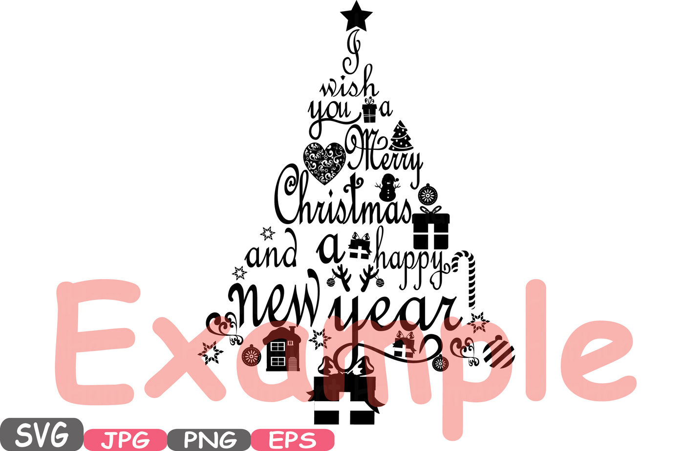 The Best New Year Tree Clipart