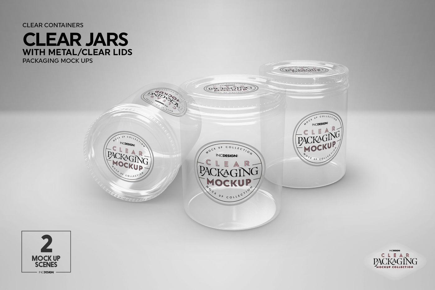 Download Cream Jar Mockup Yellowimages
