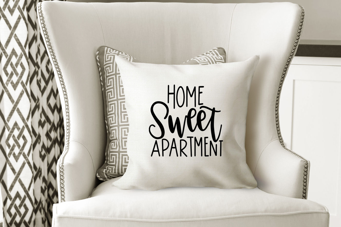 Home Sweet Apartment Hand Lettered Svg By Rosemary Designs