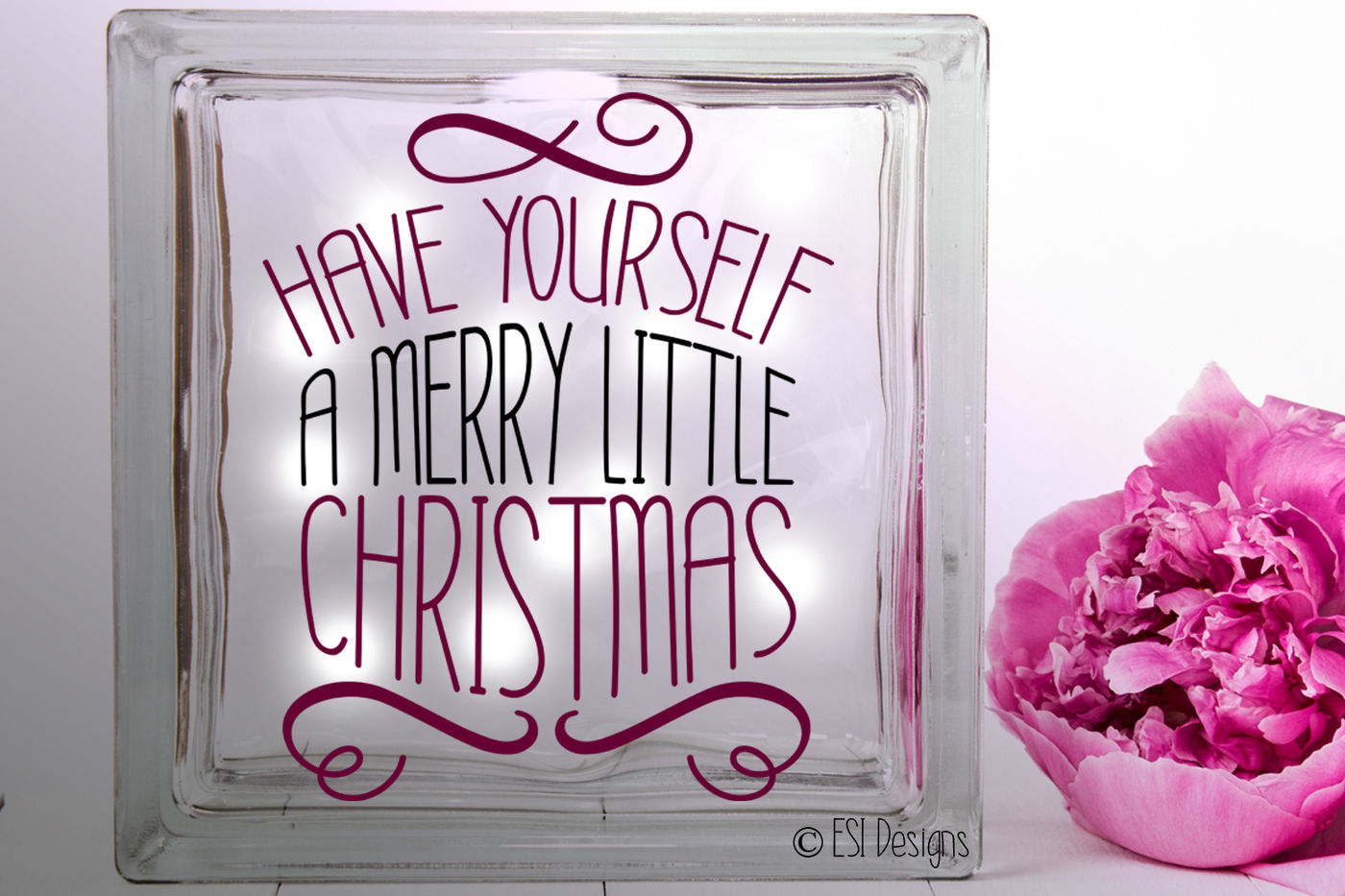 Have Yourself A Merry Little Christmas Christmas Quote Design By
