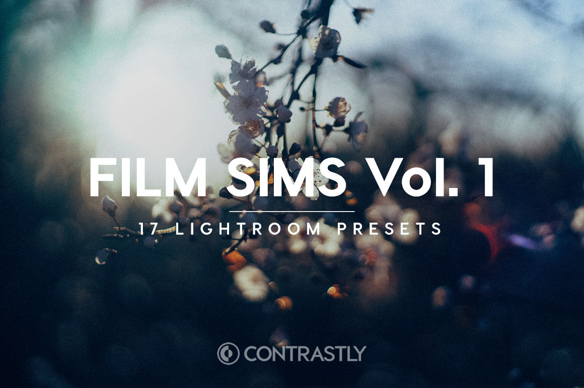 Film Sims Vol 1 Lightroom Presets By Contrastly Store