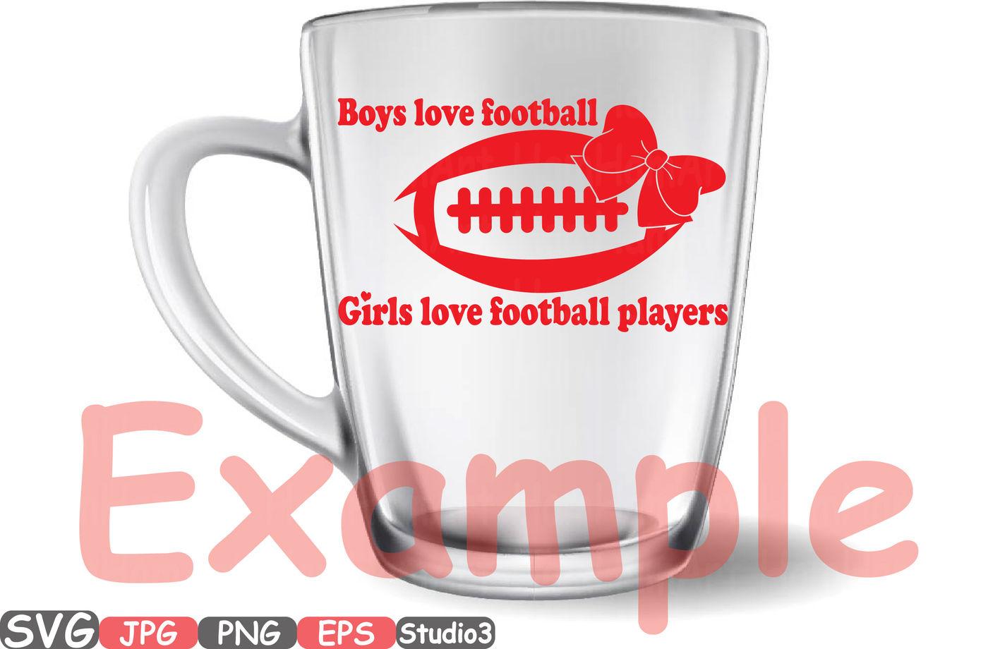 Download Football Sports Boys Love Football & Girls Love Silhouette ...