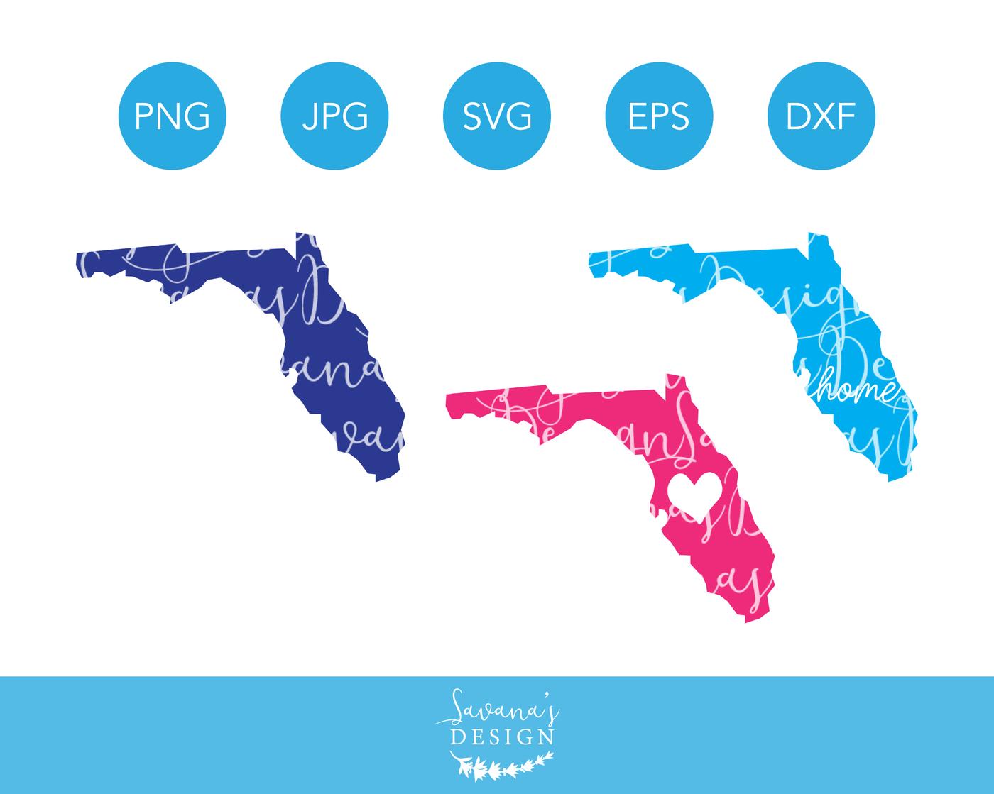 Florida Svg Florida Cut Files Florida Svg File Florida Clip Art