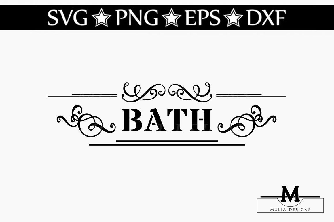 Bath Svg By Mulia Designs Thehungryjpeg Com