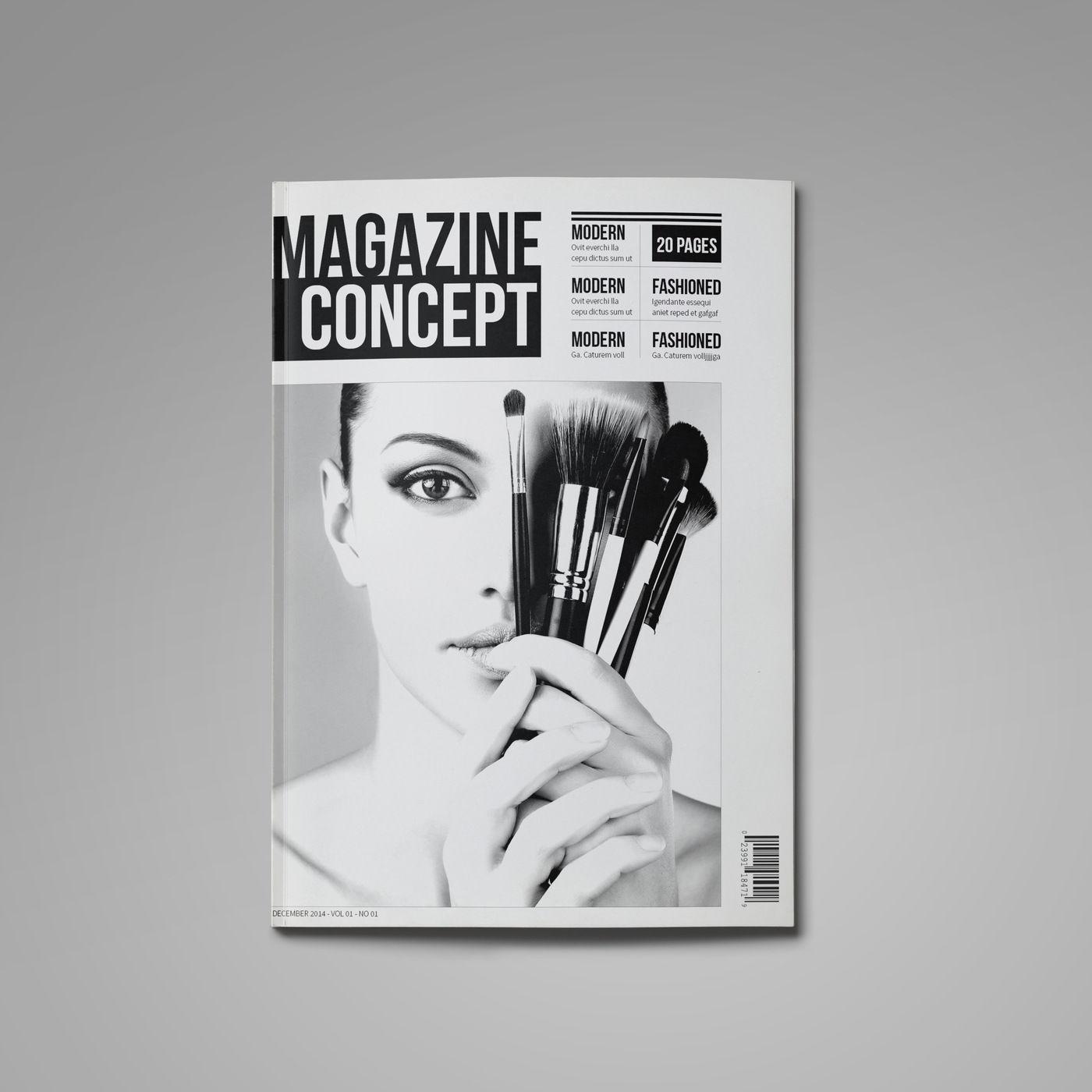 Free Indesign Template Multipurpose Magazine: Multipurpose InDesign Magazine Template By RudiSasori