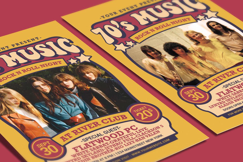 70 S Music Show By Muhamadiqbalhidayat Thehungryjpeg Com