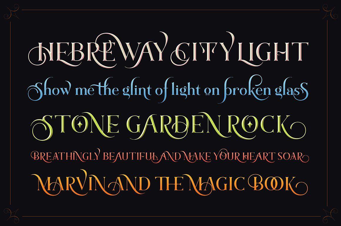 Marschel Pro By Zeune Ink Foundry Thehungryjpeg Com