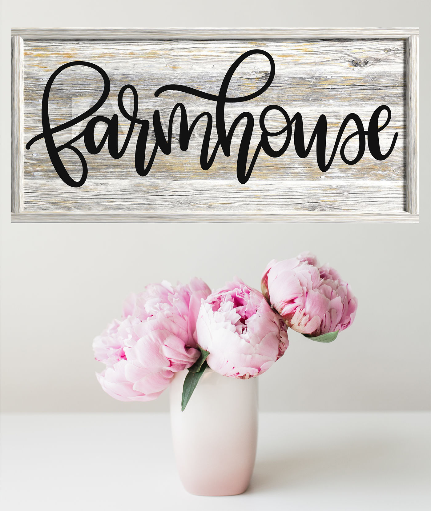Farmhouse Hand Lettered Svg By Rosemary Designs Thehungryjpeg Com