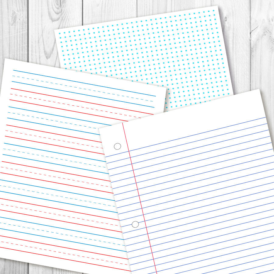 picture relating to Printable Journal Paper identified as University Electronic Papers, Dot Grid Printable, Again toward College