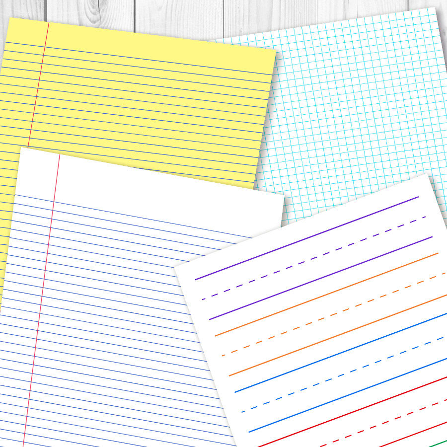 picture relating to Journal Paper Printable identify College or university Electronic Papers, Dot Grid Printable, Again toward College or university