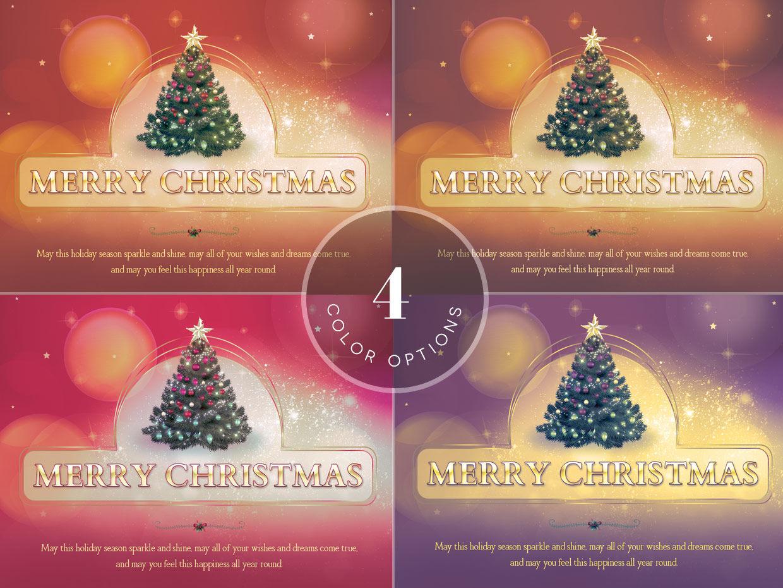 Christmas Postcard Template By Godserv Designs Thehungryjpeg Com