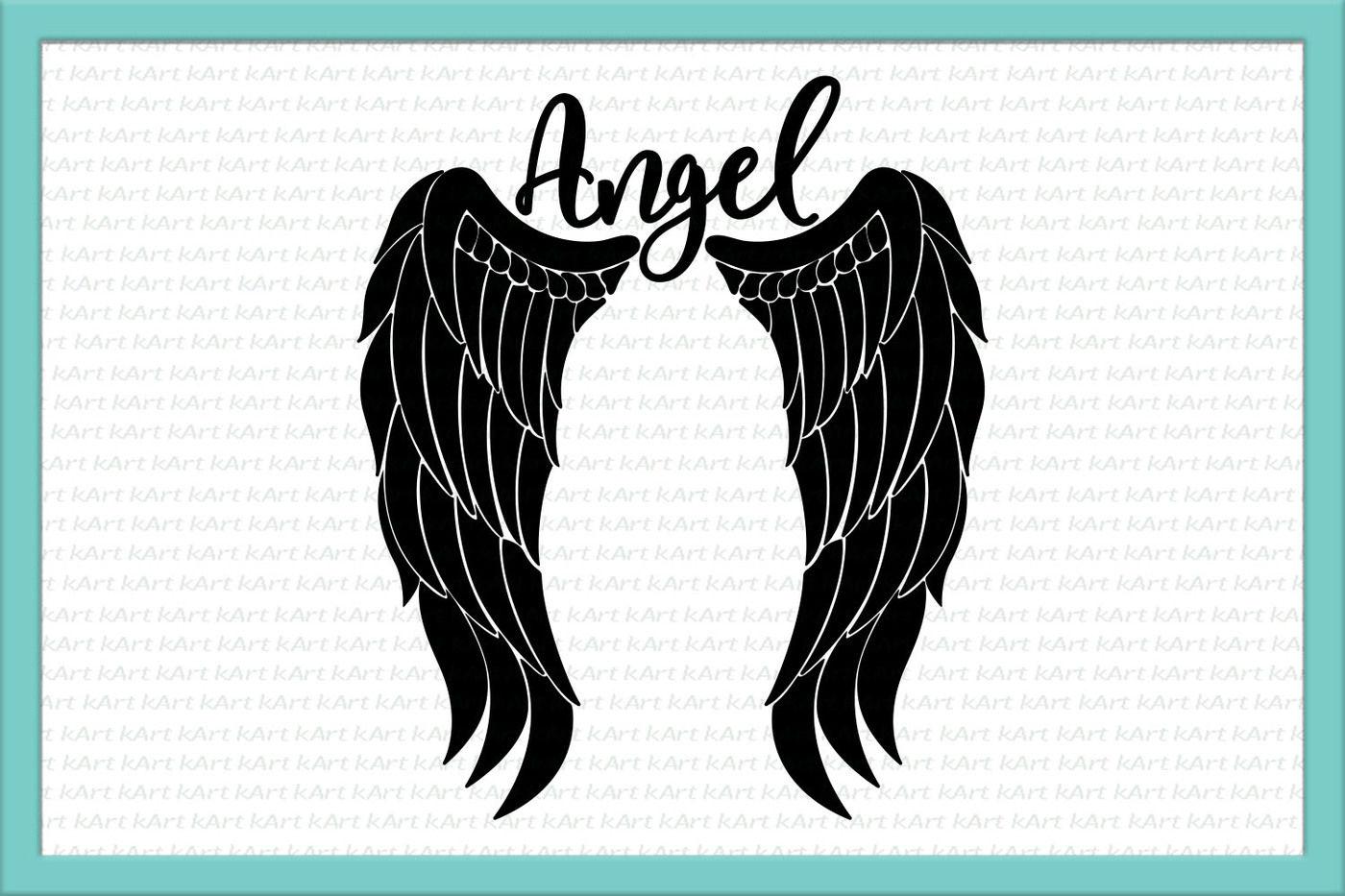 Angel Wings Svg Angel Svg Feather Wings Svg Angel Jpg Angel