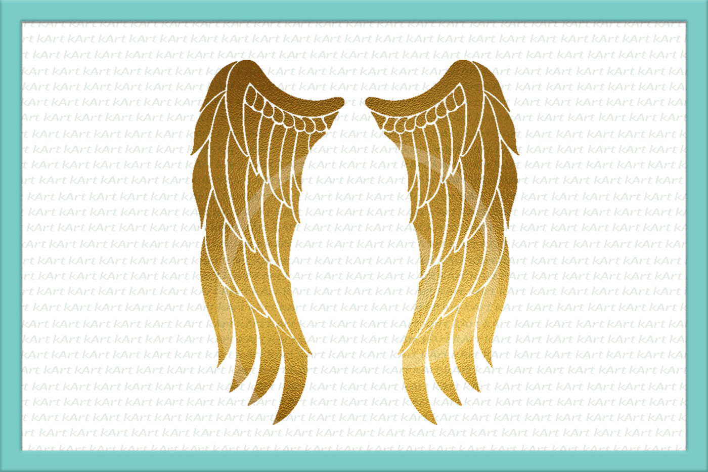 Angel Wings Iron On Angel Png Wings Digital Angel Iron On Gold