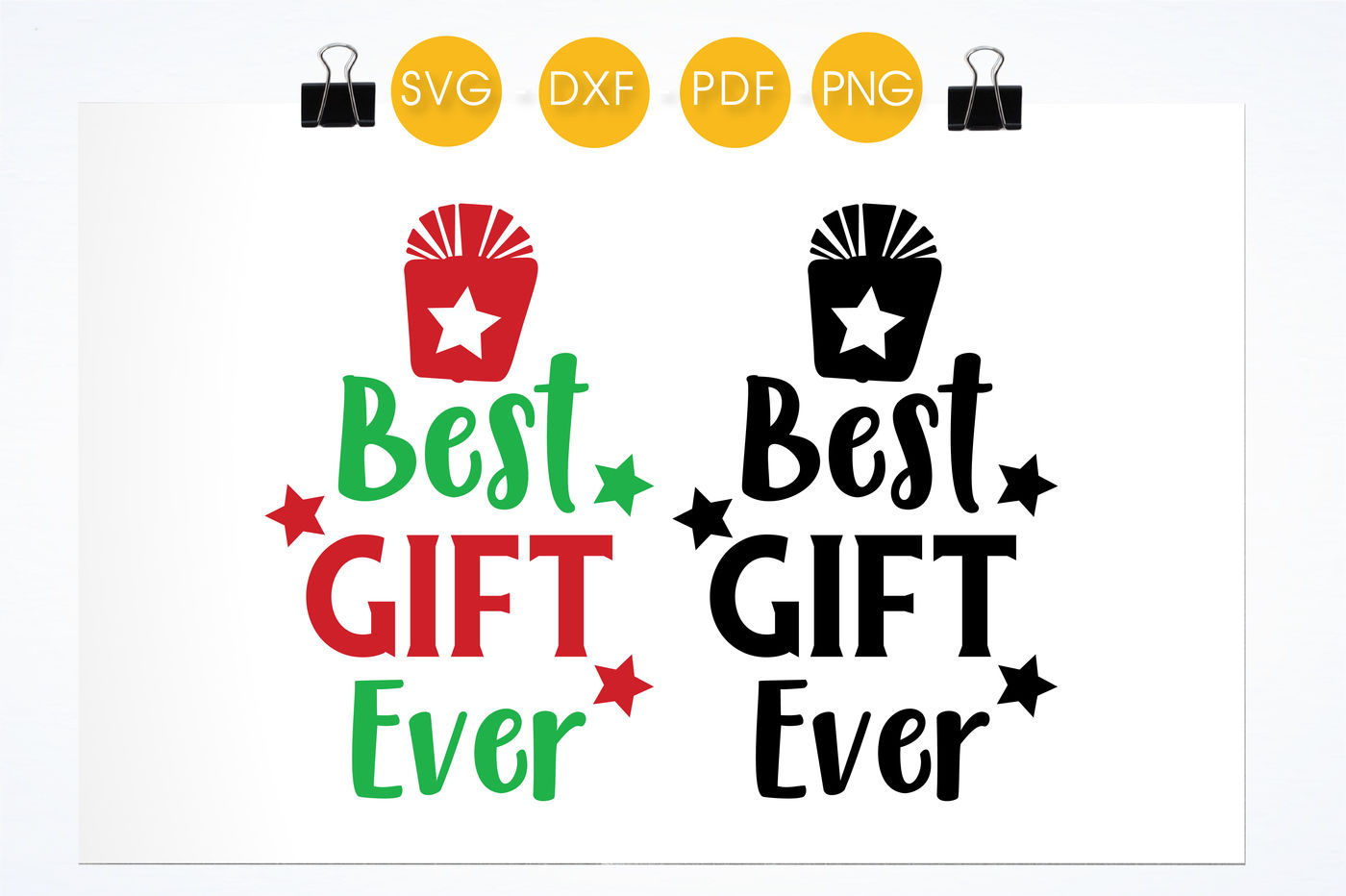 Best Gift Ever Svg Png Eps Dxf Cut File By Prettycuttables