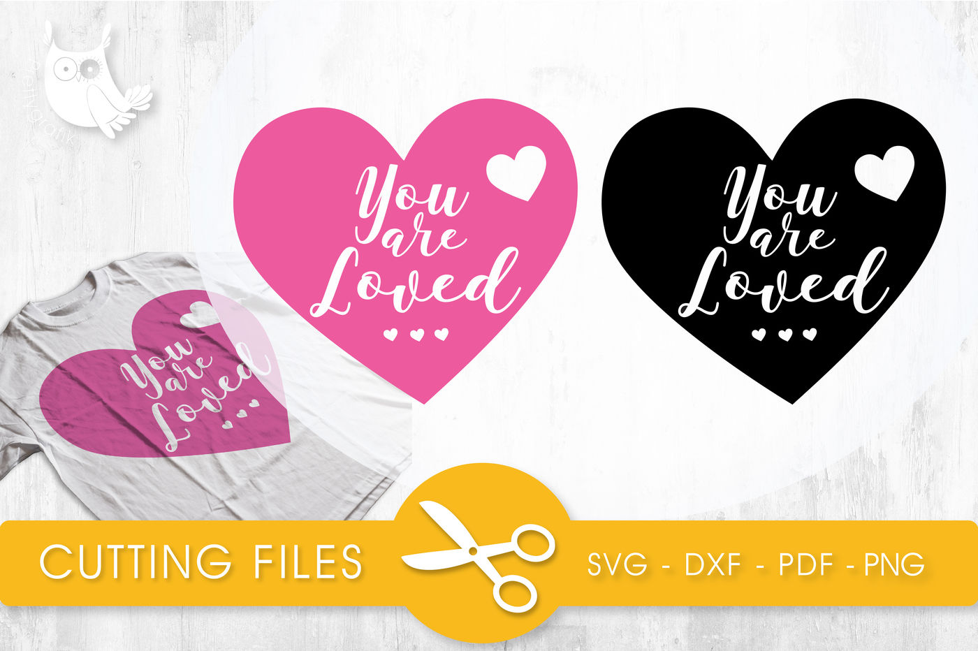 You Are Loved Svg Png Eps Dxf Cut File By Prettycuttables