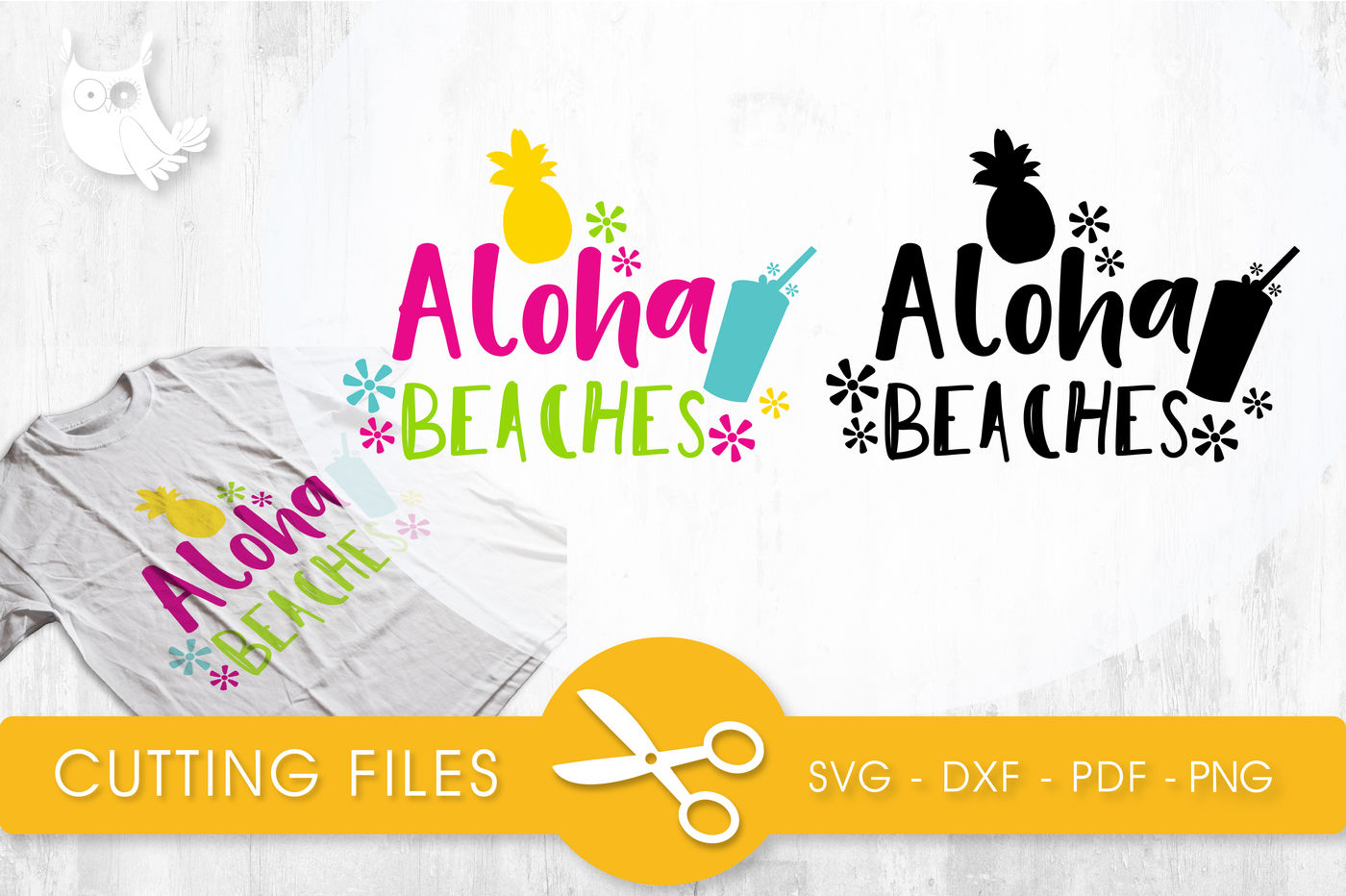 Aloha Beaches Svg Png Eps Dxf Cut File By Prettycuttables