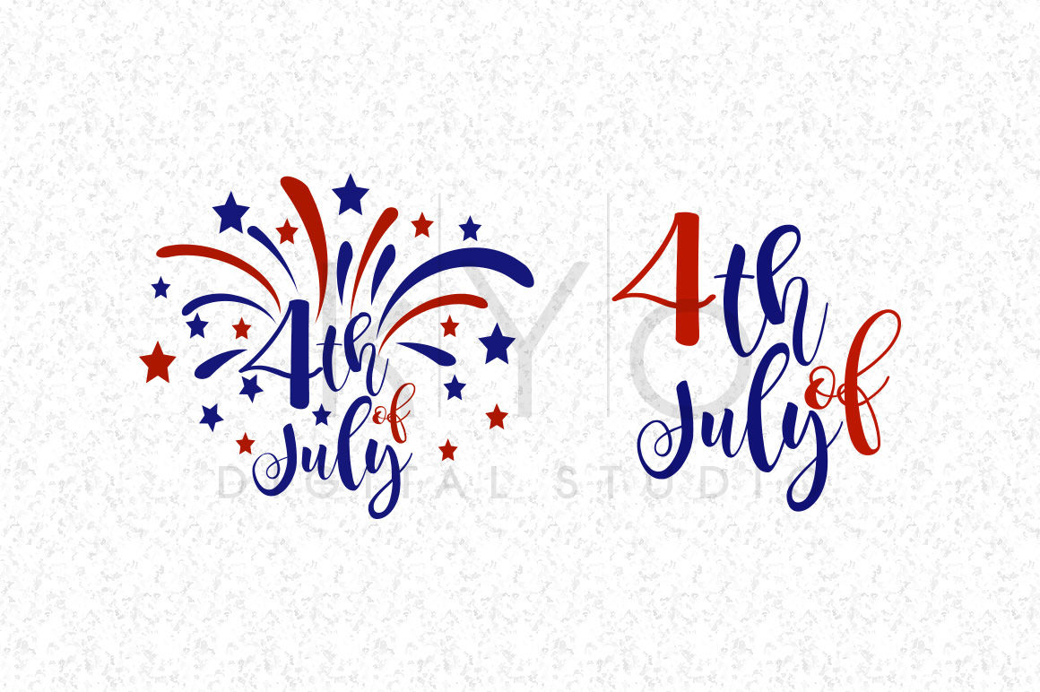 4th Of July Svg Dxf Png Eps Independence Day Patriotic Fireworks