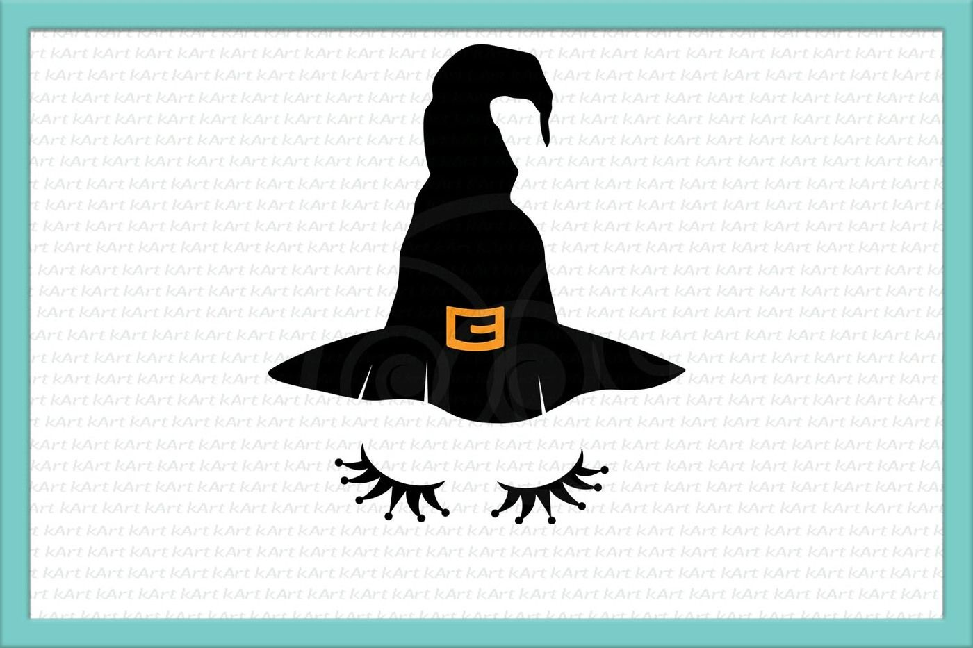 picture about Witch Hat Printable known as witch svg, witch facial area svg, witch hat svg, Halloween svg