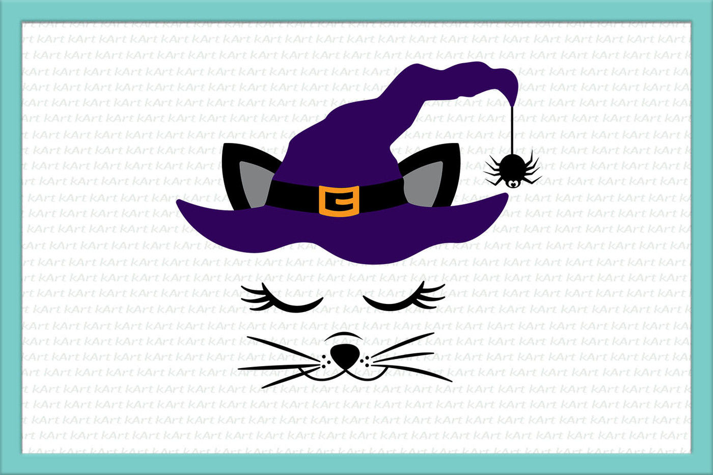 Cat Face Svg Halloween Cat Svg Cat Svg Cat Iron On Black Cat