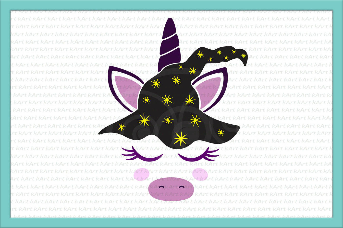 Unicorn Svg Halloween Unicorn Svg Unicorn Face Svg Unicorn