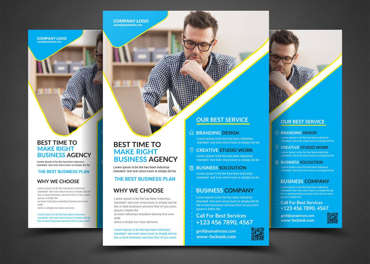 70 Business Bundle Flyer By adeesaimran | TheHungryJPEG com
