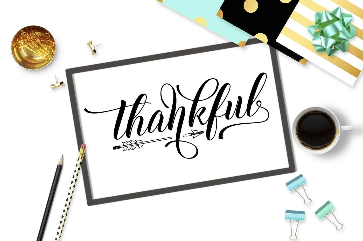 Thankful Svg Dxf Png Eps Arrow Svg Design By Theblackcatprints