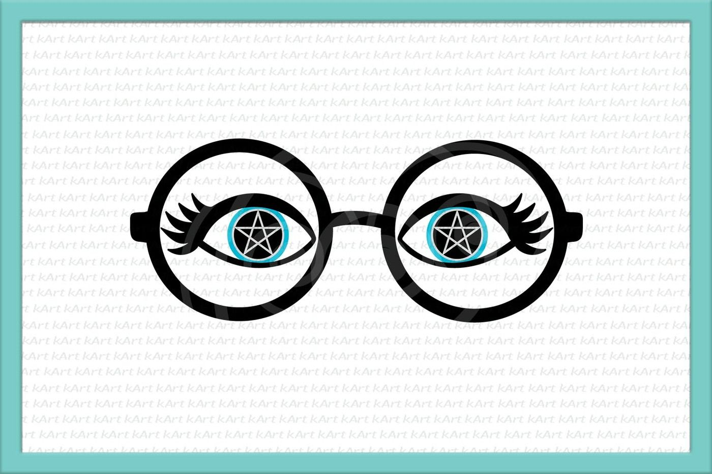 Eyelashes Svg Glasses Svg Witch Eyes Svg Witch Svg Eyes Svg